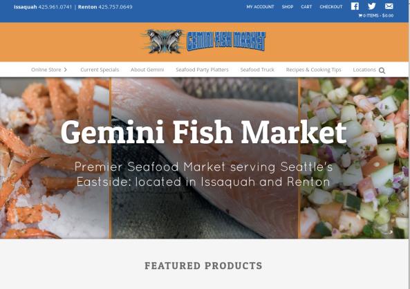 Gemini Fish Market Food Truck