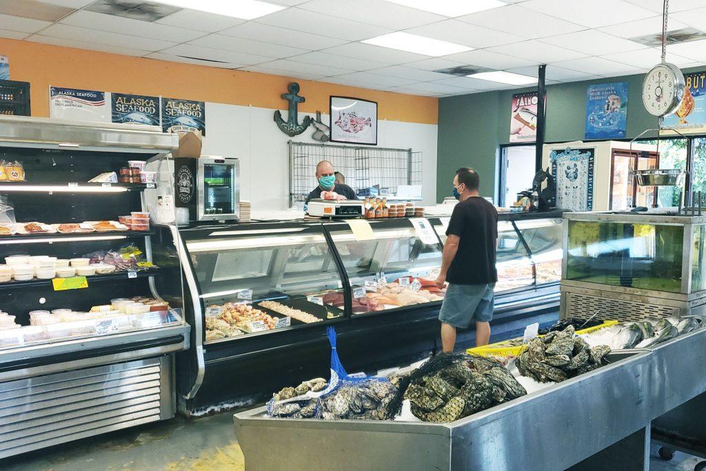 Gemini Fish Market seafood display