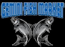 Gemini Fish Market Logo